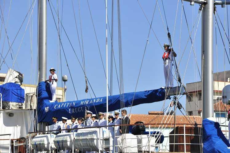 cuba, uruguay, buque escuela