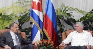 Cuba, Rusia, Díaz-Canel, Serguei Lavrov