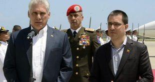 cuba, venezuela, foro de sao paulo, miguel diaz-canel, presidenre de cuba