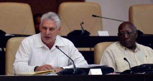 cuba, asamblea nacional del poder popular, industria, parlamento cubano, sustitucion de exportaciones, exportaciones, miguel diaz-canel, presidente de cuba