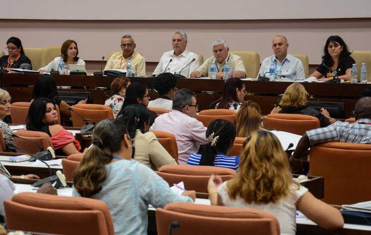 cuba, parlamento cubano, asamblea nacional del poder popular, comisiones permanentes del parlamento cubano, simbolos patrios, miguel diaz-canel, presidente de cuba
