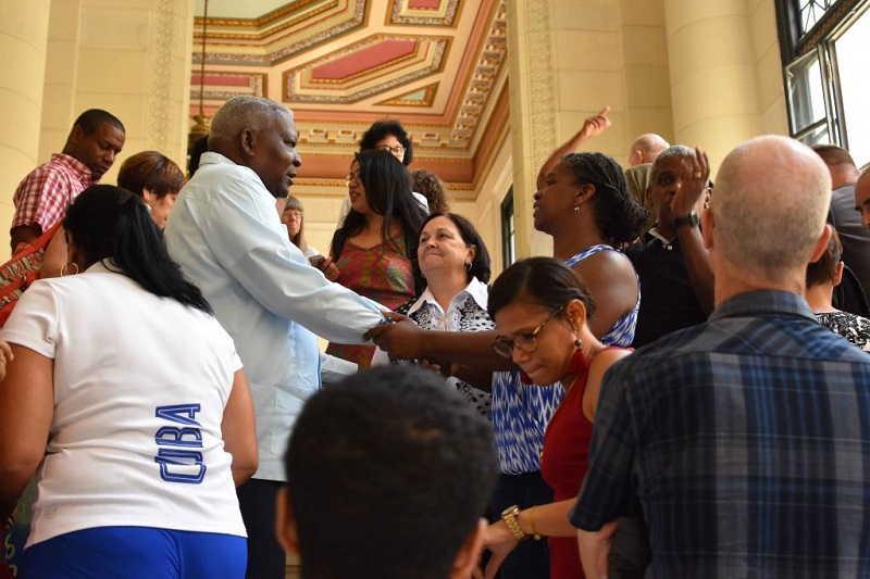 cuba, pastores por la paz, esteban lazo, parlamento cubano