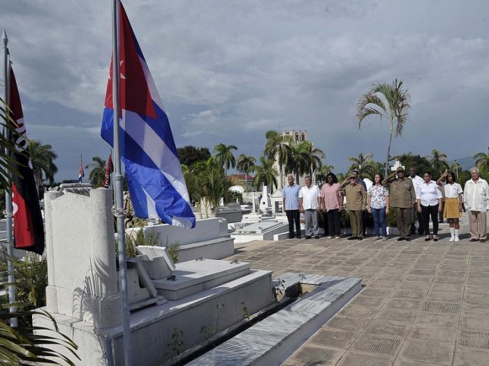 cuba, santiago de cuba, raul castro, santa ifigenia, heroes y martires de la revoluion