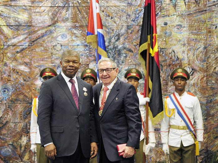 cuba, angola, orden jose marti, raul castro, presidente de cuba, miguel diaz-canel