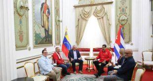 venezuela, foro de sao paulo, nicolas maduro, miguel diaz-canel, presidente de cuba
