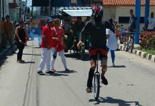 sancti spiritus, ciclismo, artes escenicas