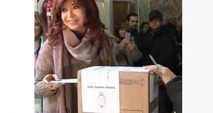 Argentina, elecciones, Cristina Fernández