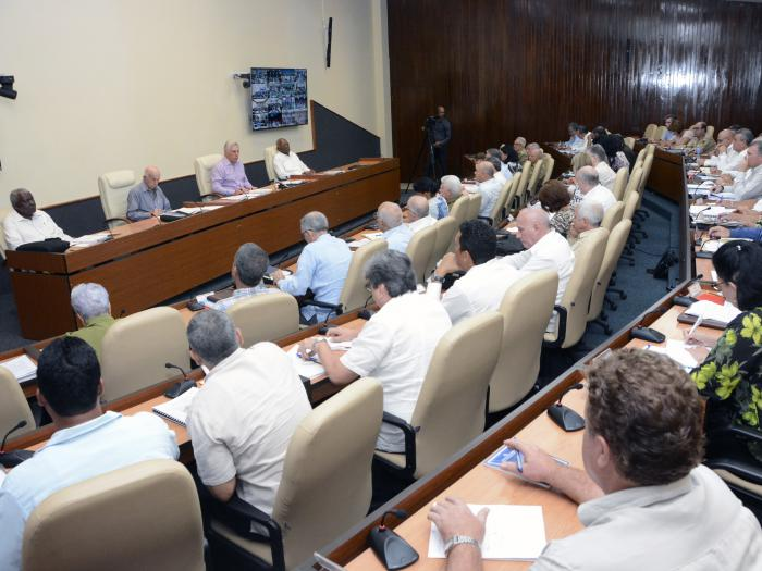 Consejo de Ministros correspondiente al mes de julio (Foto: Estudios Revolución)