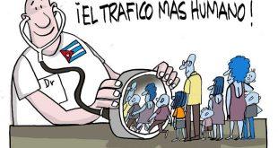 cuba, relaciones cuba-estados unidos. trata de personas, medicos cubanos, usaid