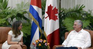 Cuba, Canadá, Díaz-Canel, MINREX