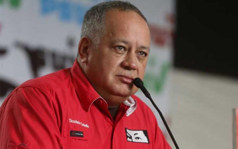 Cabello insistió en que las elecciones del Poder Legislativo  son las únicas previstas en el futuro cercano.