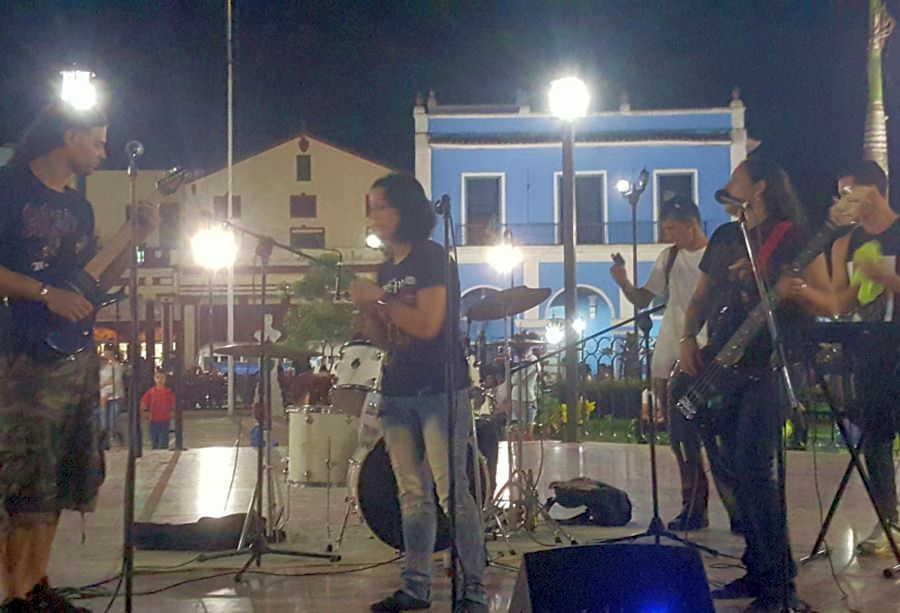 sancti spiritus, musica rock