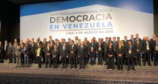 Perú, Grupo de Lima, Venezuela, Nicolás Maduro, EE.UU.