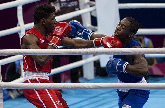 Los cuatro cubanos que pelearon en el cartel del cierre del boxeo panamericano, se llevaron el título. (Foto: Irene Pérez/ Cubadebate)