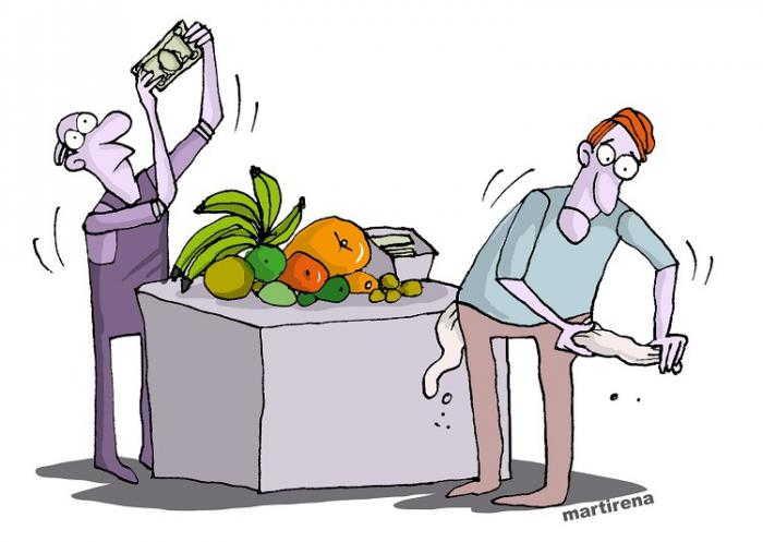 sancti spiritus, precios, alimentos precios, consejo de la administracion provincial, sector no estatal, trabajadores por cuenta propia