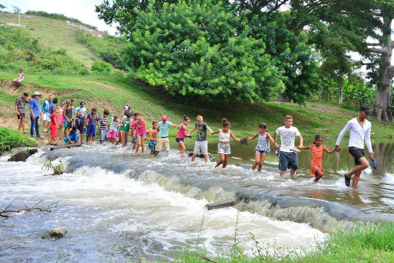 jatibonico, campamento de pioneros exploradores, arroyo blanco