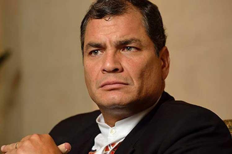 """""""La consigna es que Correa no sea candidato', subrayó el ex presidente ecuatoriano. (Foto: PL)"""