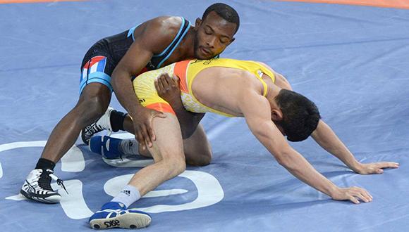 Andreu le ganó por superioridad técnica al brasileño Daniel Alves para hacerse del bronce panamericano. (Foto: ACN)