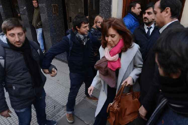Cristina ha acudido a las audiencias del juicio. (Foto: PL)