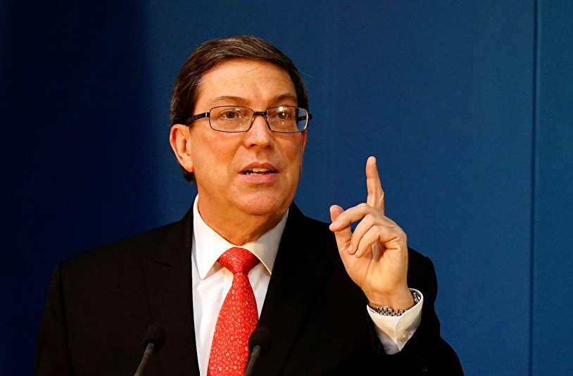 cuba, estados unidos, brono rodriguez, canciller cubano, bloqueo de eeuu a cuba, bloqueo de eeuu a venezuela