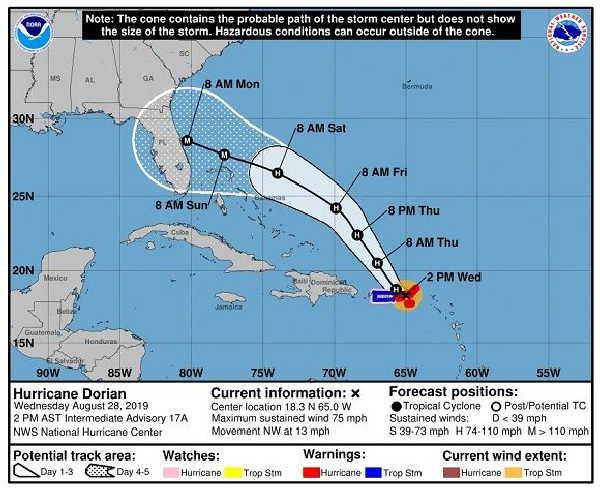 tormenta tropical, huracanes, instituto de meteorologia