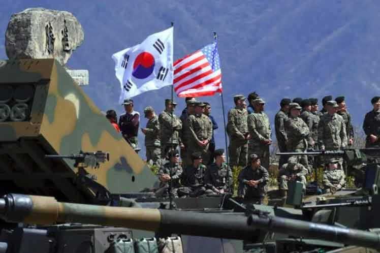 estados unidos, republica popular democratica de corea, corea del sur, maniobras militares