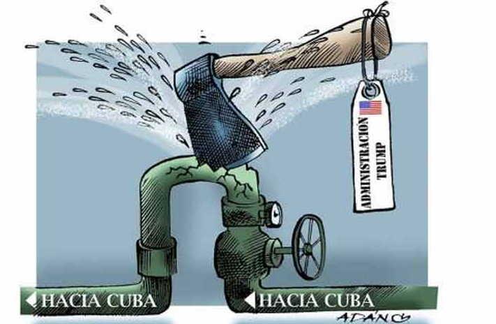 cuba, estados unidos, combustible, bloqueo de eeuu a cuba
