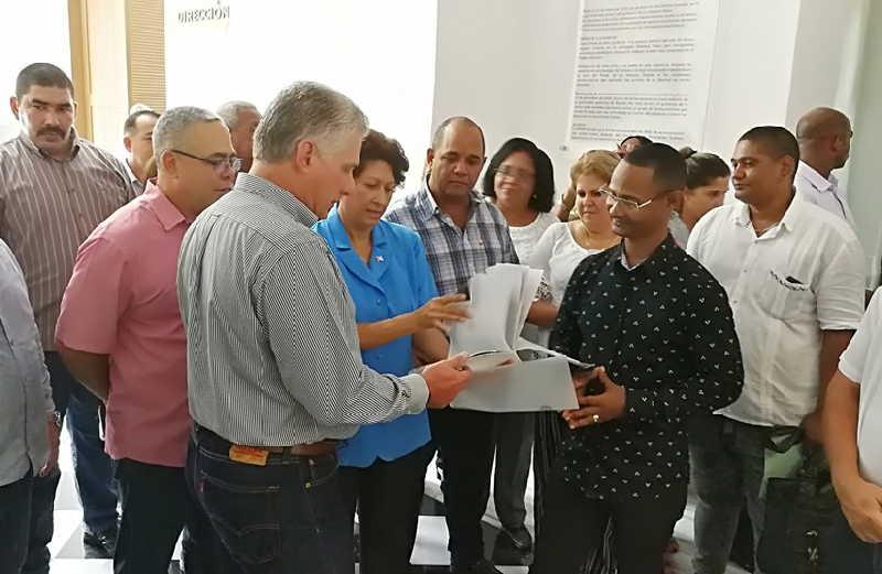cuba, educacion, miguel diaz-canel, presidente de cuba, la habana, curso escolar 2019-2020