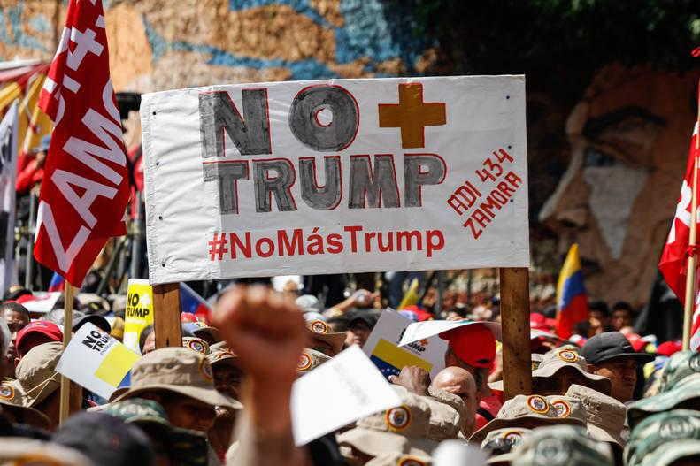 venezuela, estados unidos, bloqueo de eeuu a venezuela, injerencia, donald trump