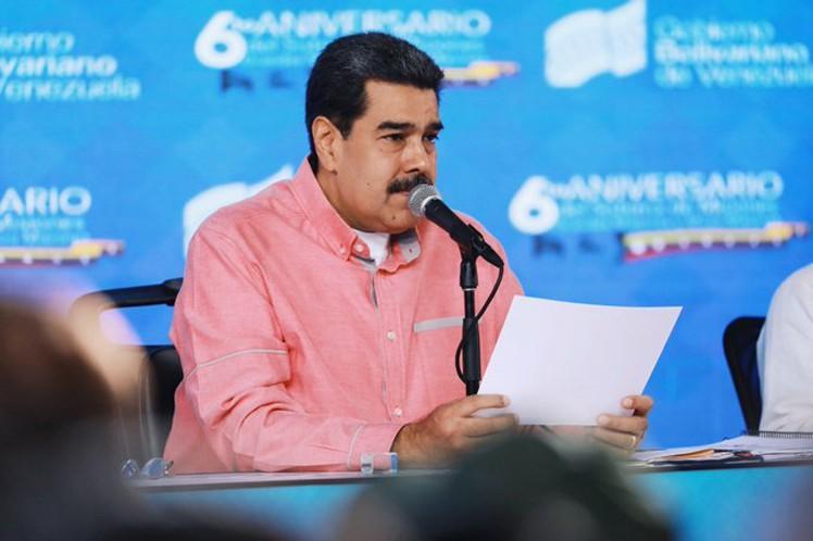 venezuela, nicolas maduro, estados unidos, bloqueo de eeuu a venezuela, injerencia