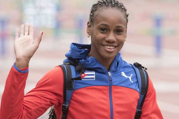 Adriana Rodríguez dio la sorpresa con su medalla de oro en el heptalón.