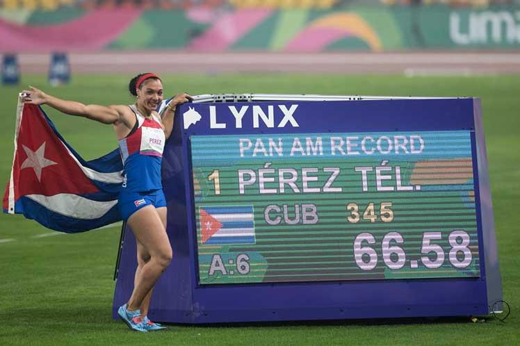 Yaimé se hizo con el último lanzamiento del título y del record panamericano en el disco. (Foto: PL)