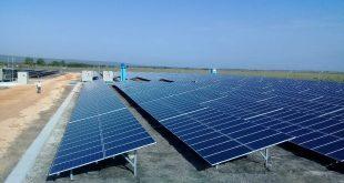 Parque solar, energía renovable, electricidad