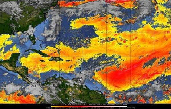 Sahara dust cause cyclonic calm in the Caribbean