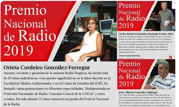 cuba, premio nacional de radio, miguel diaqz-canel