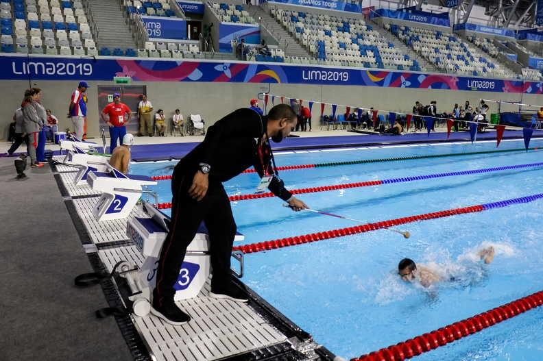cuba, sancti spiritus, juegos parapanamericanos, lima 2019, natacion