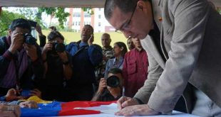 venezuela, bloqueo de eeuu a venezuela, jorge arreaza