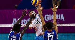 cuba, juegos panamericanos, lima ulino2019, voleibol masc
