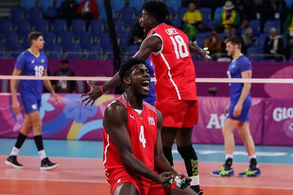 Tras derrotar a Brasil, Cuba discutirá el título del voleibol panamericano ante Argentina. (Foto: Roberto Morejón)