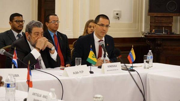 Arreaza demandó respeto a la Carta de  la ONU. (Foto: TeleSUR)