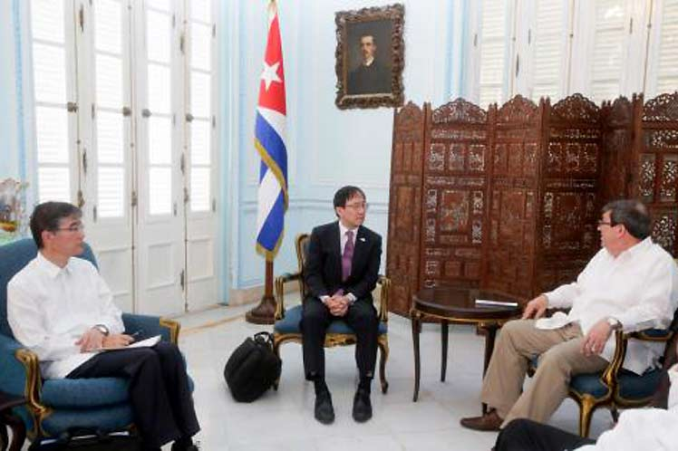 Cuba, Japón, Minrex