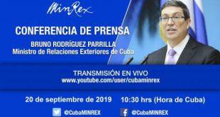 Bloqueo, Cuba, EE.UU., Minrex
