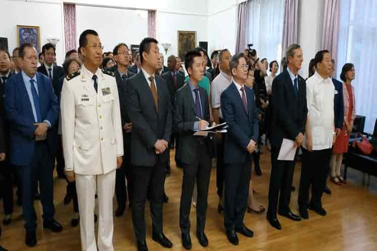 Durante la actividad se pasó  revista al progreso ininterrumpido de los nexos bilaterales.