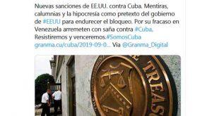 Cuba, EE.UU., Bloqueo