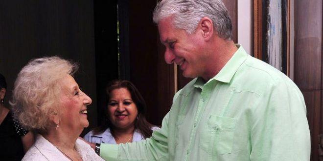 Cuba, Argentina, Díaz-Canel, Madres de la Plaza de Mayo