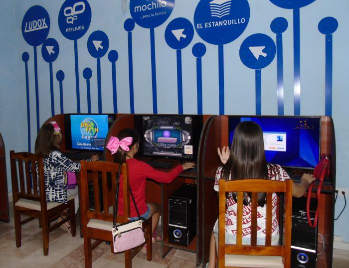 Los Joven Club aportan una combinación de instrucción y recreación que resulta bien acogida. (Foto: Cortesía Joven Club)