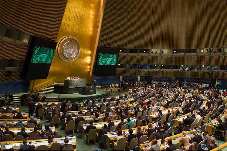 La mayoría de la comunidad internacional apoya el fin del bloqueo norteamericano contra Cuba. (Foto: PL)