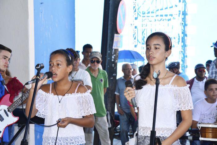 Además de cantar, Yenifer y Martha también componen temas musicales.