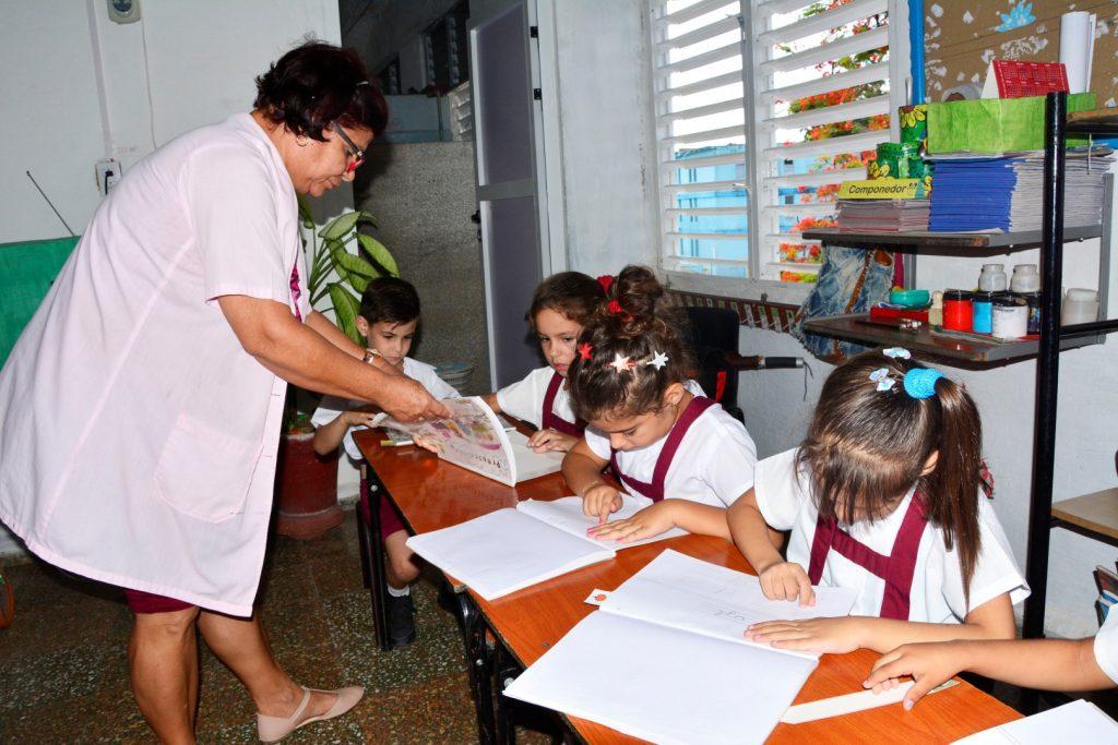 La pedagoga con más de 30 años de labor siente verdadero amor por los niños.