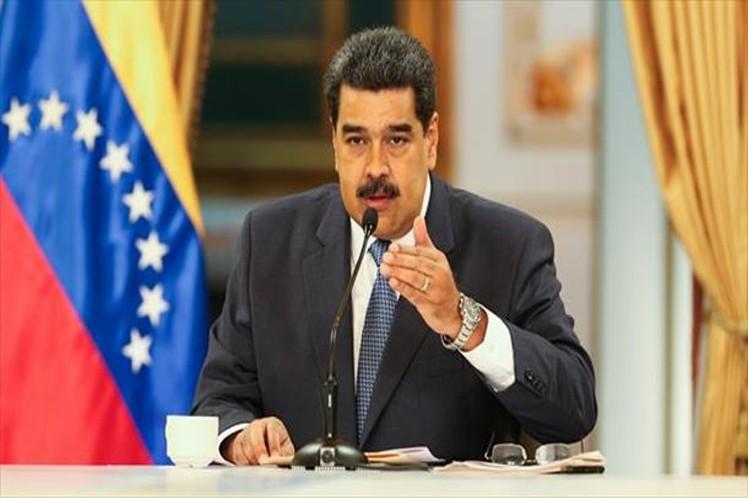 Maduro ratificó todo el apoyo de las fuerzas revolucionarias a las  iniciativas de diálogo de Noruega. (Foto: PL)
